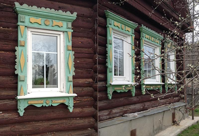 окна в деревенских домах фото них привлекают своей